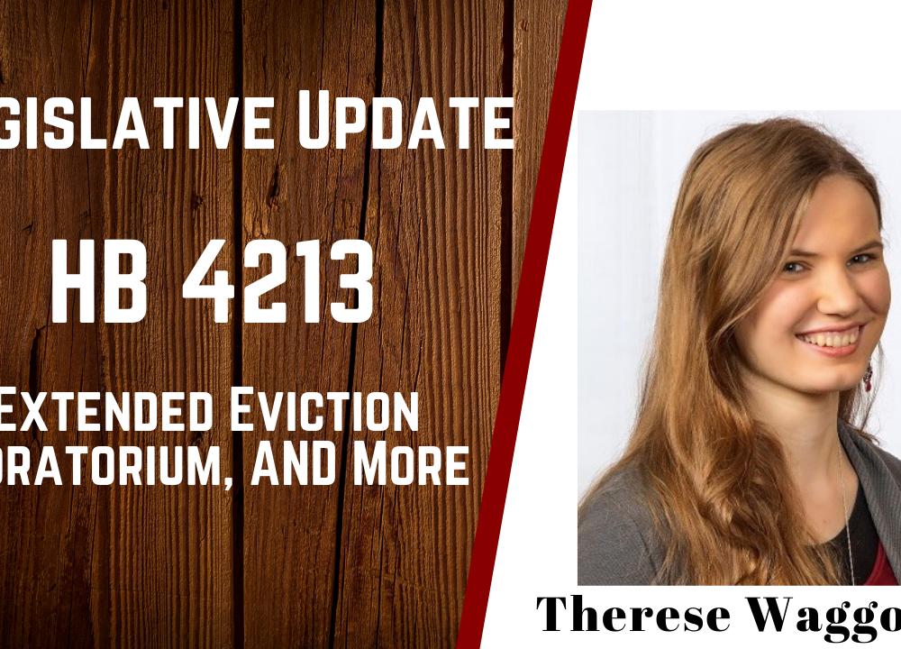 HB 4213- Legislative Update