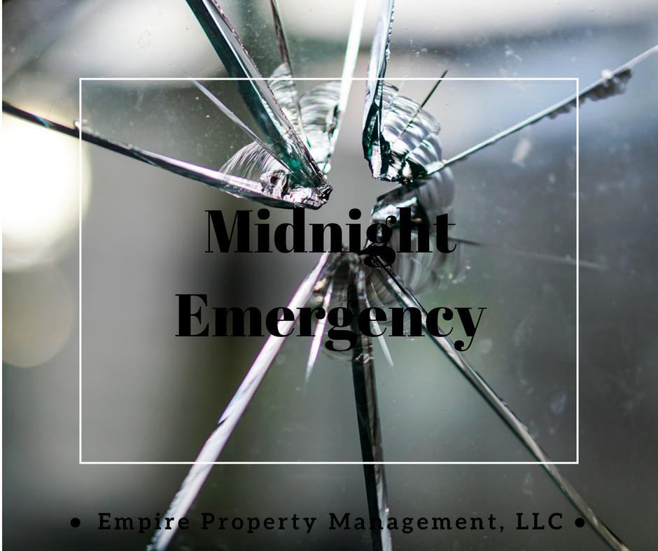 Midnight Emergency- A Landlord's Nightmare